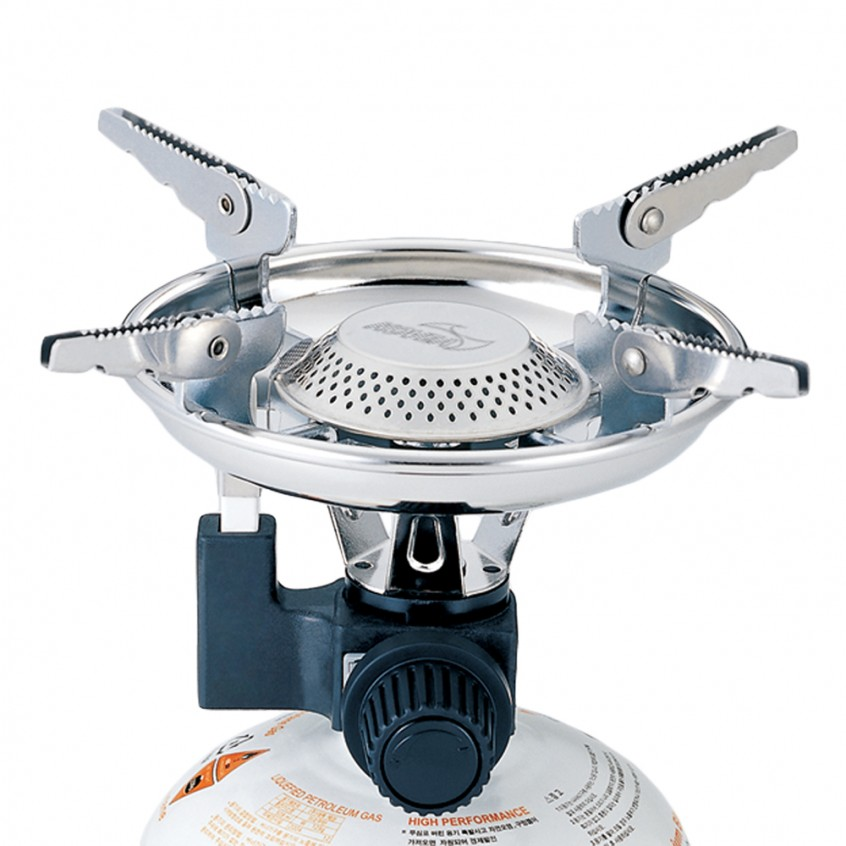 KOVEA Scout TKB-8911-1 Camping Gas Stove, hiking, camping, outdoor, bbq, gas, stove, cooking, adventure, activity